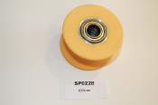 Fuel Ellipticals Slide Wheel | Urethane Assembly. w/Bearings | 000251 | RP060103-01